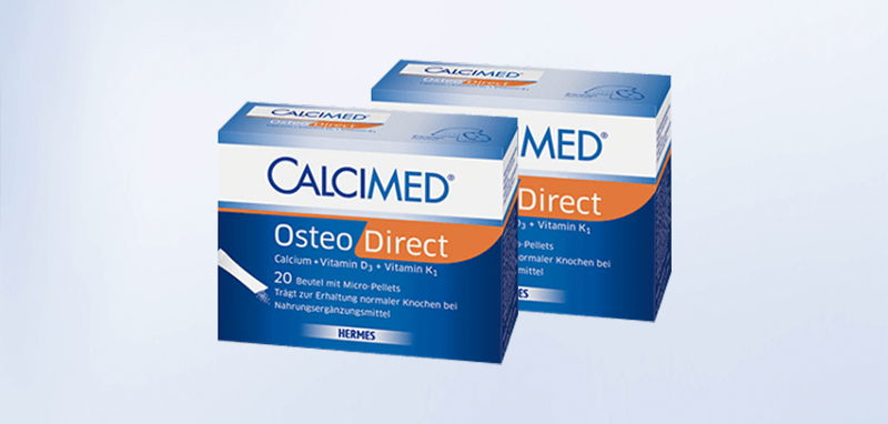 Packshot von CALCIMED® Osteo Direct